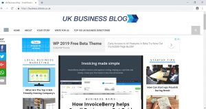 top 3 business blogs in uk